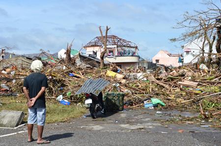 Typhoon Haiyan: Eye of the Storm