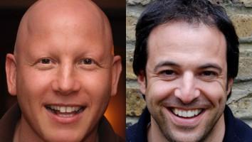 Jonathan Chinn (left) and Simon Chinn
