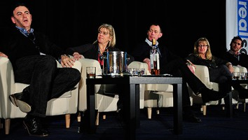 The America 101 panel session at the 2014 Realscreen Summit. Photo: Rahoul Ghose