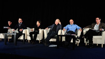 The Climate Change? The State of the Natural History Nation session at the 2014 Realscreen Summit. Photo: Rahoul Ghose