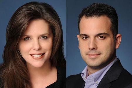 Lisa Levenson (left) and Alex Piper