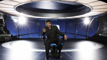Neil deGrasse Tyson in Cosmos - A Space-Time Odyssey