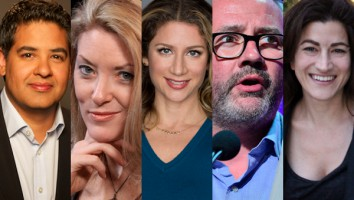 and Trouble-makers panel session at Realscreen Summit 2014