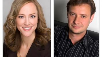 Laura Fleury and Thomas Moody