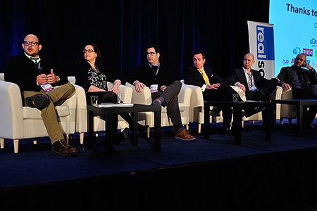 The 'Making Waves with Live' session at the Realscreen Summit. Photo: Rahoul Ghose