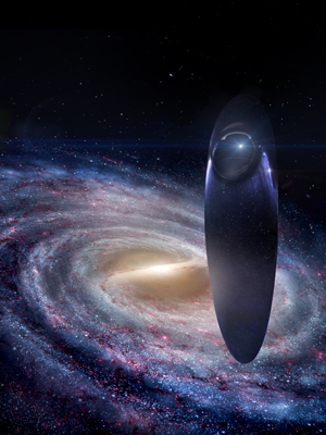 cosmos's new-look ship of the imagination. credit: michael maher