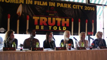 Women in Film's 'Truth Be Told' panel session at the 2014 Sundance Film Festival