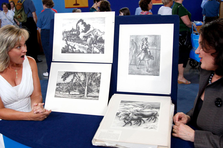 "The U.S. version of ""Antiques Roadshow"". Photo: PBS"