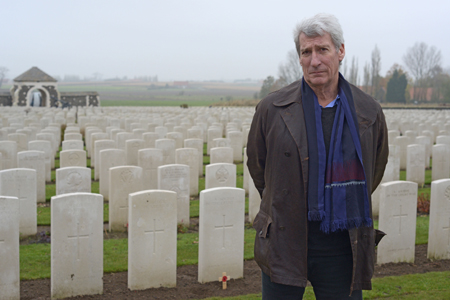 "Jeremy Paxman in ""Britain's Great War"""