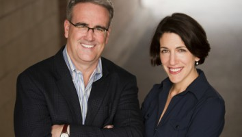 Sean Gallagher (left) and Abby Greensfelder