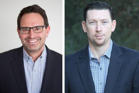 Rob Smith (left) and Ben Samek (right)