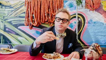 Illegal Eater Steven Page