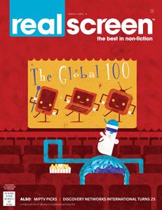 realscreen magazine, march/april 2014