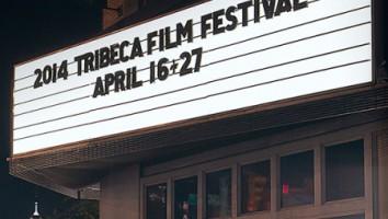 2014 Tribeca film Festival marquee