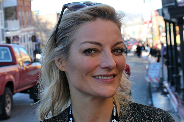 Lucy Walker at Sundance 2014. Photo by Adam Benzine