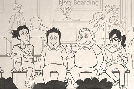 Meet the Patels cartoon