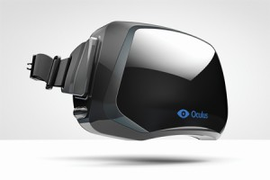 The Oculus Rift VR headset
