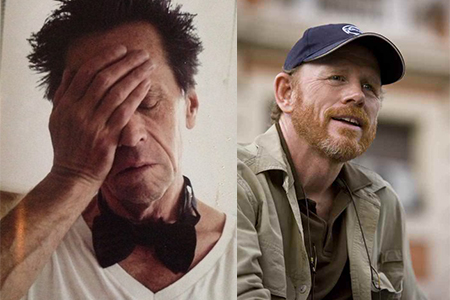 Brian Grazer (left) and Ron Howard (right). Pictures: Official Twitter accounts