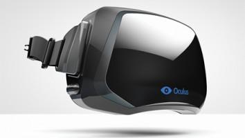 The Oculus Rift VR headset