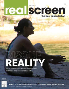 The May/June 2014 issue of Realscreen magazine