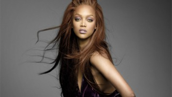 "Tyra Banks in ""America's Next Top Model"""