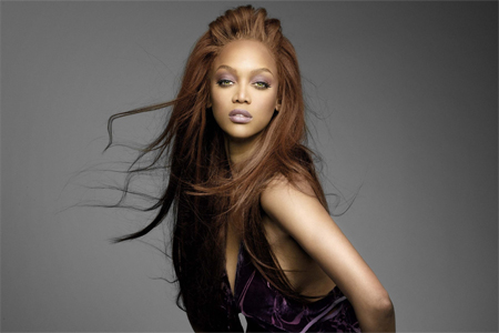 """Tyra Banks in """"America's Next Top Model"""""""