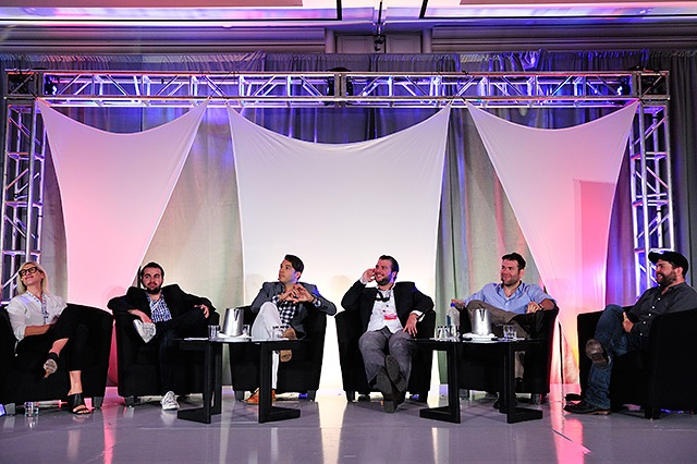 """Next Gen Talk Unscripted"" session at Realscreen West. Photo: Rahoul Ghose"