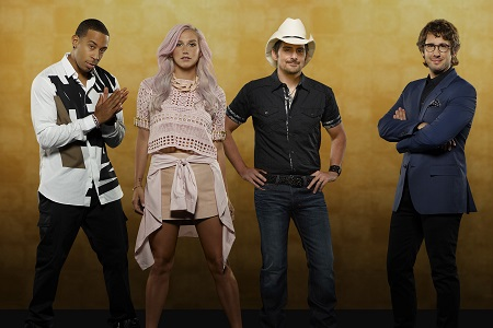 ABC's version of Rising Star featured Ludacris, Kesha, Brad Paisley and Josh Groban