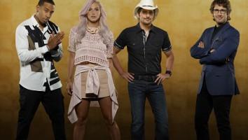 ABC's version of Rising Star featured Josh Groban, Brad Paisley, Kesha and Ludacris