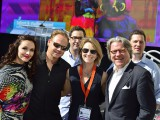 Nik Wallenda and friends at Realscreen West 2014 in Santa Monica.