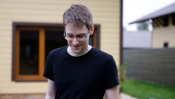 "Edward Snowden, the star of ""Citizenfour"""