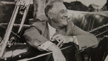 """FDR as shown in """"The Roosevelts"""""""