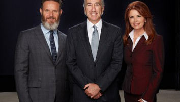 Mark Burnett, Gary Barber, Roma Downey