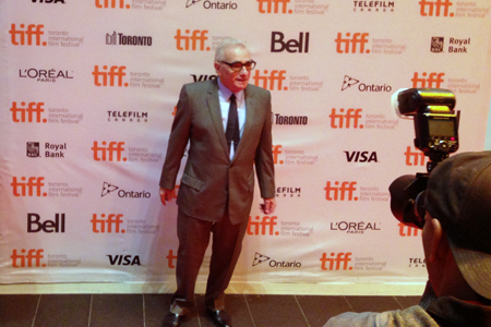 Martin Scorsese at TIFF 2014. Photo: Adam Benzine