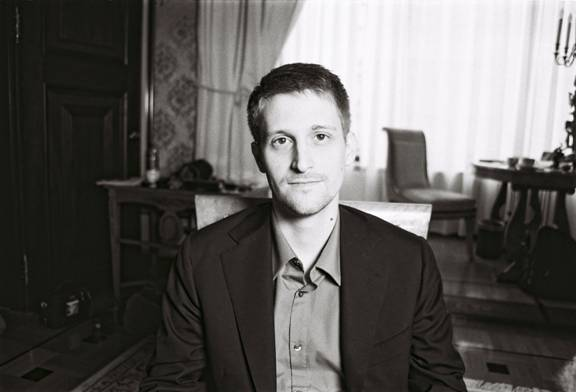 "Edward Snowden in ""Snowden's Great Escape."""
