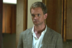 "Neil Patrick Harris in a still from ""Gone Girl"""
