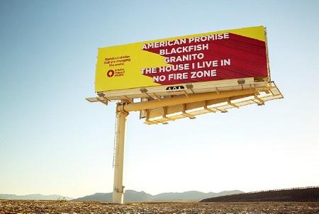Impact Award billboard