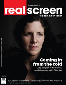 Realscreen magazine November 2014 issue