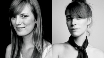 Sarah Polley (left) and Leslie Feist