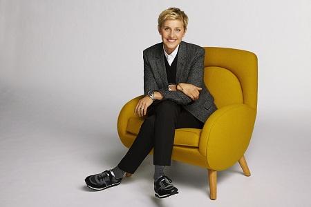 Ellen DeGeneres, host of HGTV's Ellen's Design Challenge.