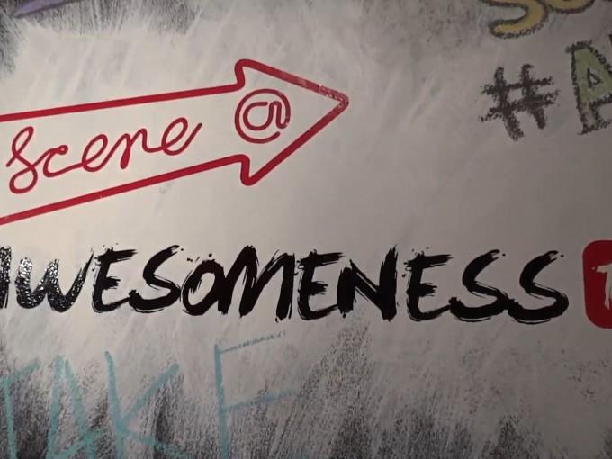 Copied from StreamDaily - Scene@Awesomeness Chalkboard