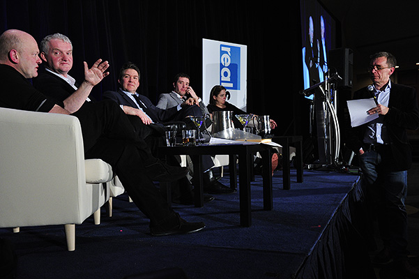 """The Trendwatch: Putting the """"Special"""" in Specialist Factual panel session at the 2015 Realscreen Summit. Photo: Rahoul Ghose"""