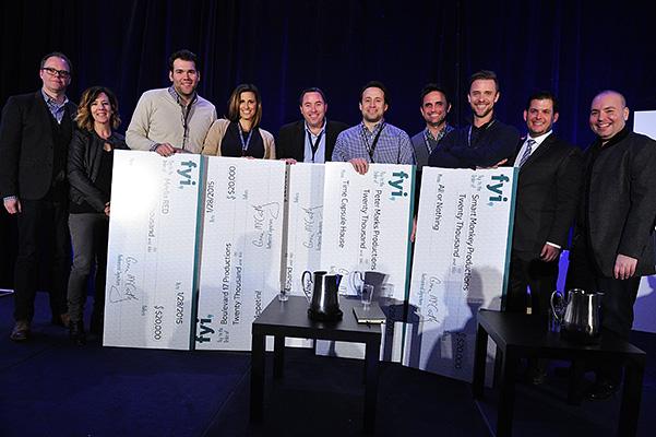Realscreen Summit: FYI Development Lab winners. Photo: Rahoul Ghose