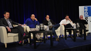 The Documentary 2.0 panel at the 2015 Realscreen Summit. Photo: Rahoul Ghose