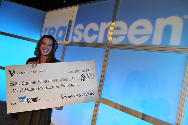 2015 Summit Showdown winner Laura Gamse