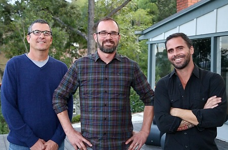 Three Dads and a House