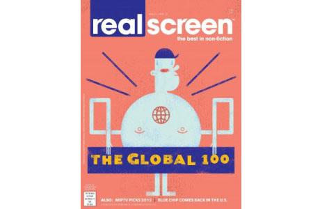 Global 100 2015 cover by Matt Daley