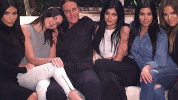 Jenner with Kardashians