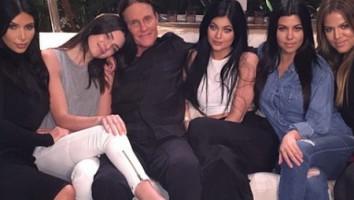 Jenner with Kardashians