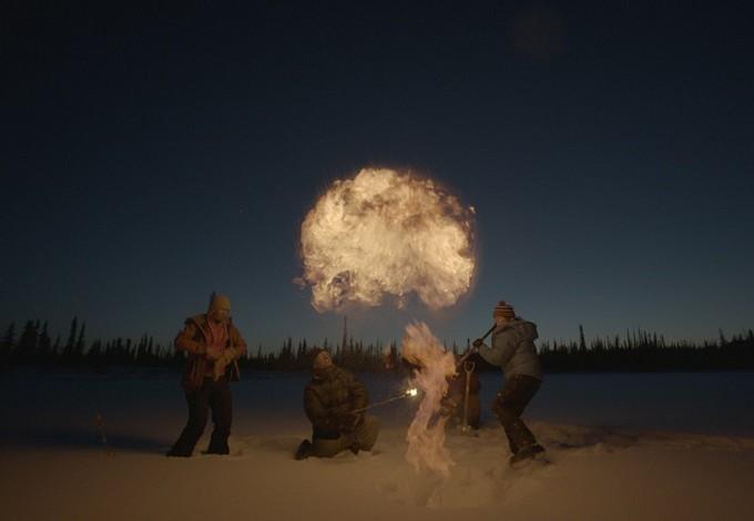 Racing Extinction methane explosion